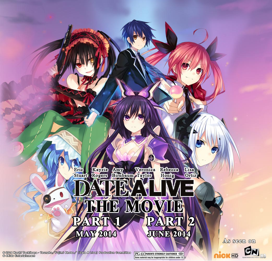 Vídeo Promocional do filme Date A Live Movie: Mayuri Judgment
