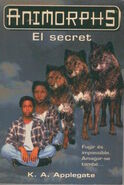 Animorphs 9 the secret El secret catalan cover