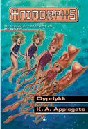 Animorphs 27 the exposed Dypdykk Norwegian cover