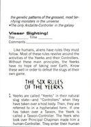 Aa handbook 17 six rules of yeerks