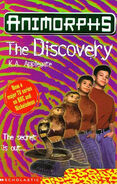 Animorphs discovery book 20 uk cover