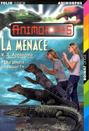 Animorphs 12 the reaction La Menace french cover