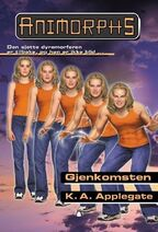 Animorphs 48 the return Gjenkomsten Norwegian cover