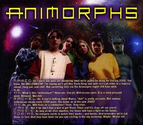 Animorphs 1999 calendar december all