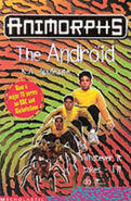 Animorphs 10 The Android UK cover