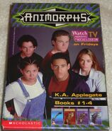 Animorphs boxed set 1 with tv show picture