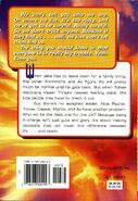 Animorphs 37 weakness back cover