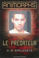 Animorphs 5 the predator Le Predateur 2011 alternate French cover