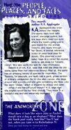 K A Applegate bio from animorphs flash newsletter 1