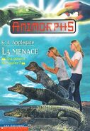 Animorphs 12 the reaction La Menace french canadian cover