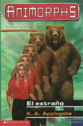 Animorphs 7 the stranger el extrano spanish cover emece