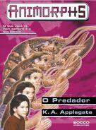 Animorphs 5 the predator O predador brazilian cover Rocco