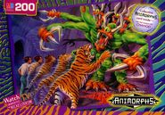 Animorphs puzzle jake tiger fighting visser three eight headed creature