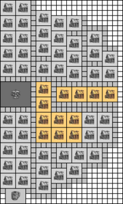 Layout large city wo facilities