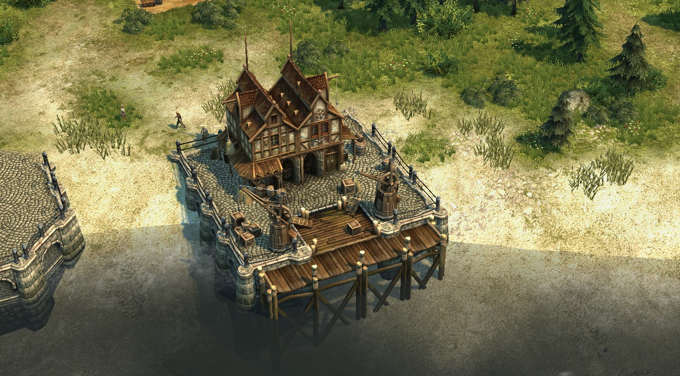 Harbour master's office   Anno 1404 Wiki   FANDOM powered ...