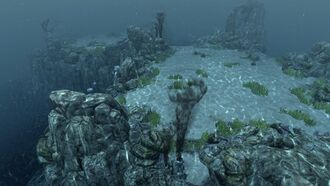Underwater plateau