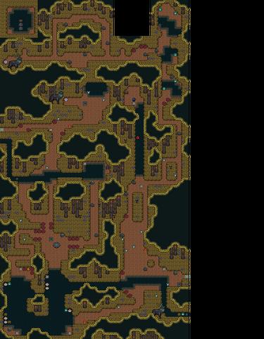 Anodyne map FOREST