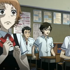 Aya's shocked face while watching <a href=