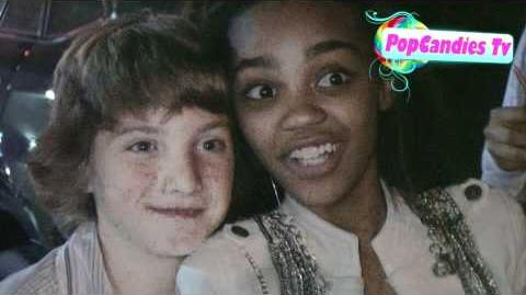 China Anne McClain & Jake Short at Madison Pettis's 13th Birthday @ Eden in Hollywood!