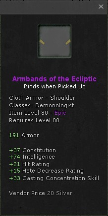Armbands of the ecliptic