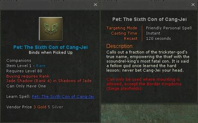 Pet the sixth con of cang jei