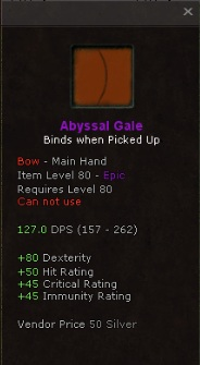 Abyssal gale