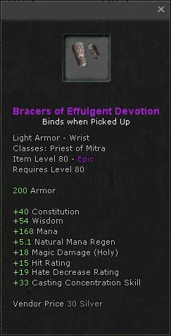 Bracers of effulgent devotion