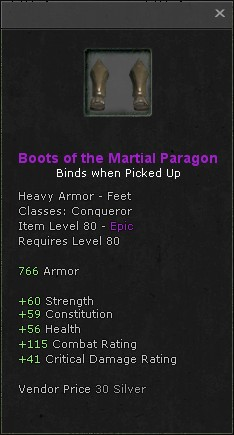 Boots of the martial paragon
