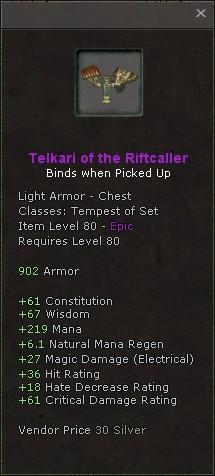 Telkari of the riftcaller