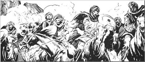 Afghuli horsemen
