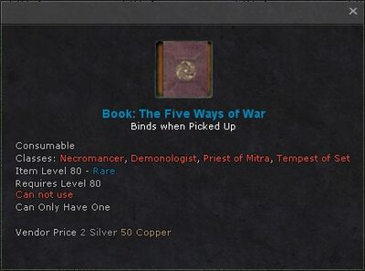 Book the five ways of war