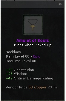 Amulet of Souls