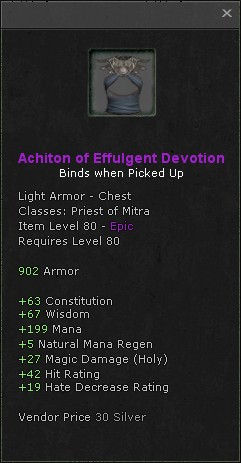 Achiton of effulgent devotion