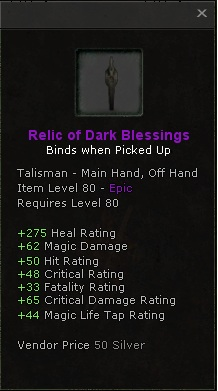 Relic of Dark Blessings