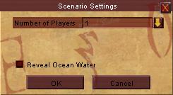 Scenario Settings