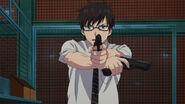 Yukio Using his Pistols