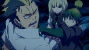 Amaimon threatens Ryuji