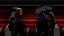Kaldur'ahm and Black Manta YJ