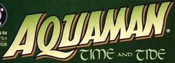 Aquaman Time and Tide Logo