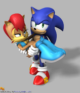 Sonic and sally by elesis knight-d3cljdu