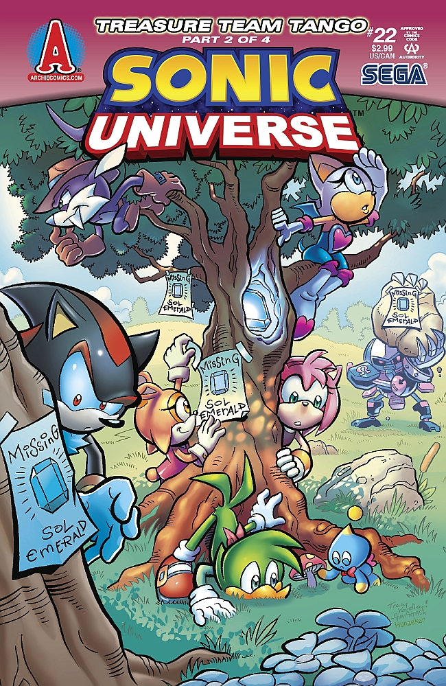 Sonic Universe #5 - 30 Years Later - Part 1 of 4 (Issue)