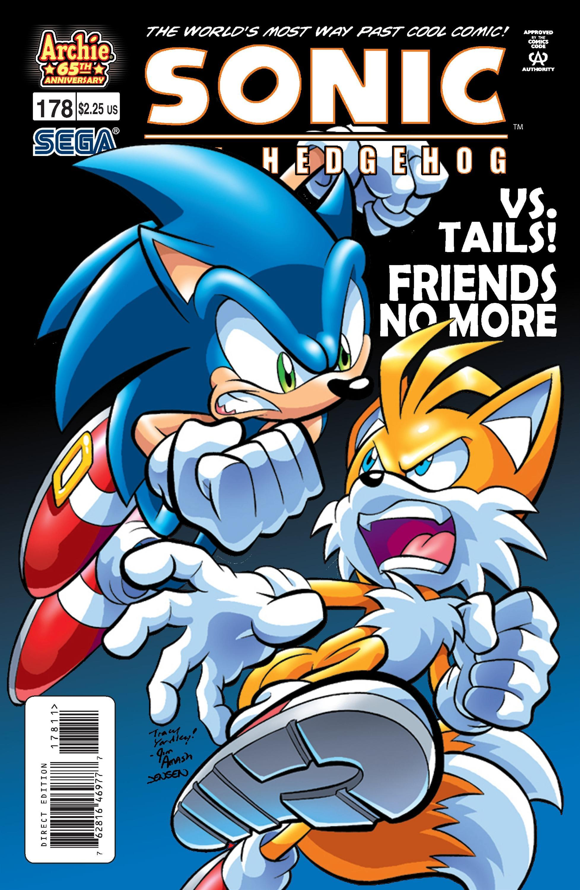 Archie Sonic The Hedgehog Issue 178 Mobius Encyclopaedia