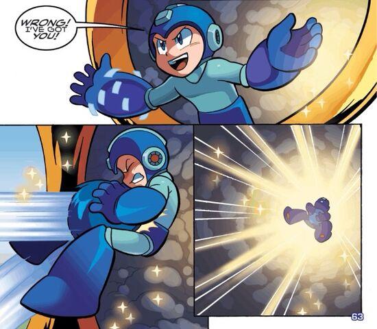 File:Mega Man tricks Sonic.jpg