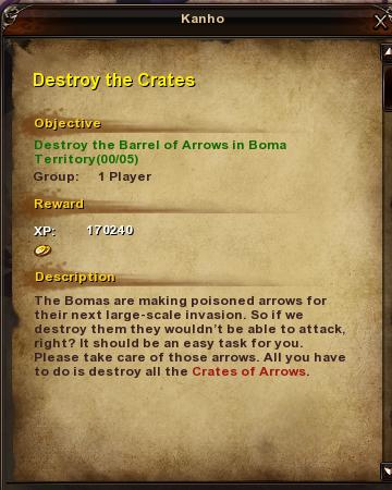 138 Destroy the Crates