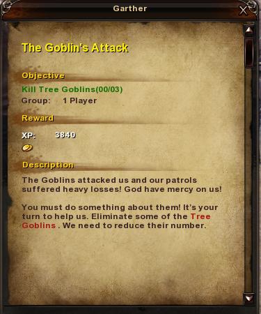 6 The Goblin's Attack
