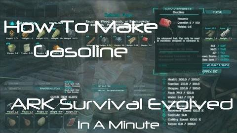 Video - ARK Survival Evolved How To Make Gasoline ARK: Survival Evolved Wiki Fandom powered by Wikia