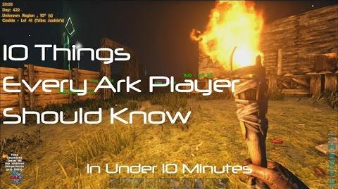ARK Survival Evolved 10 Things Every Player Needs To Know