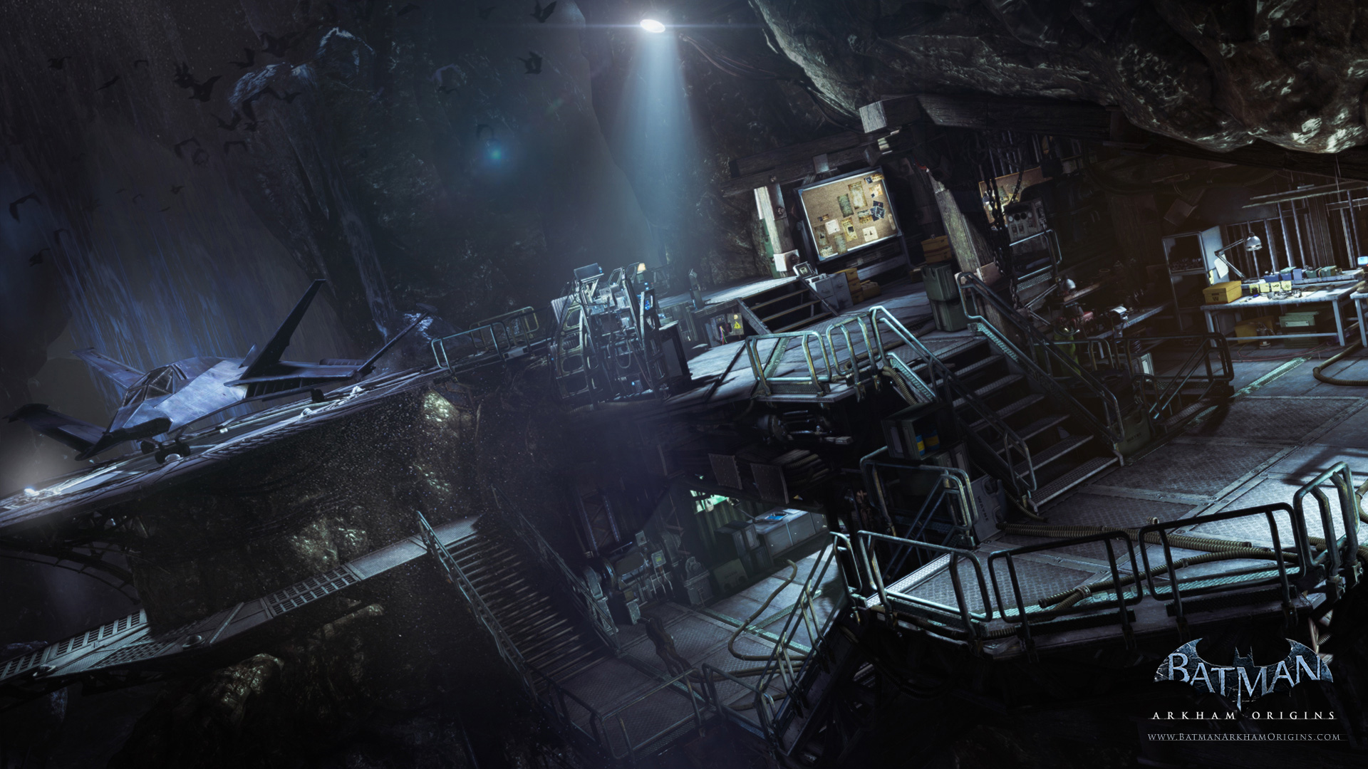 Arkham City Batcave The Batcave in Arkham Origins