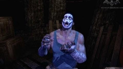 Batman- Arkham City - Easter Egg -5 - Scarecrow's Secret Room