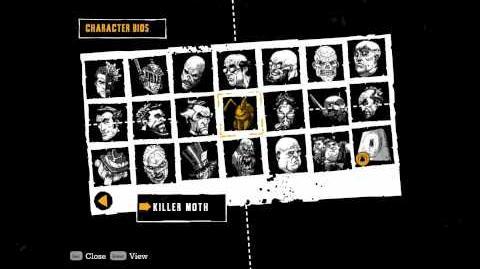 """Batman Arkham Asylum"", all Character Bios (HD quality)"